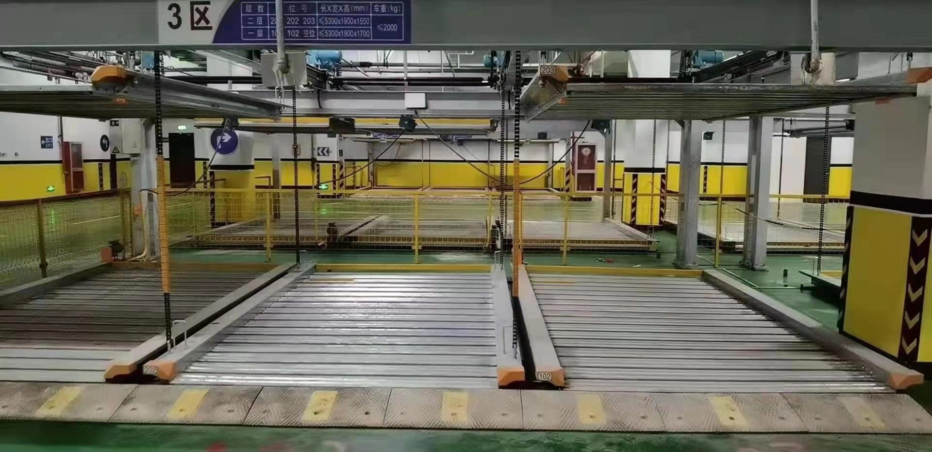 江蘇徐州回收鏈條式機械車庫回收智能機械液壓式車位