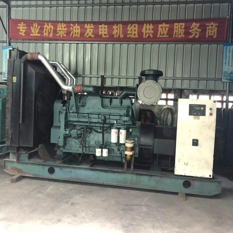 河南洛阳市汽油发电机回收洛阳帅鑫机电设备专业回收发电机实力回收