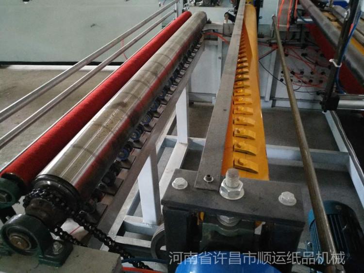 开卫生纸加工厂选1880型卫生纸复卷机的优势介绍 纸成型机械