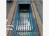 明渠式紫外线消毒模块对流经明渠的水体进行杀菌的自动清洗设备
