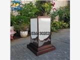 新中式電鍍景觀燈柱別墅花園草坪燈園林工程落地燈