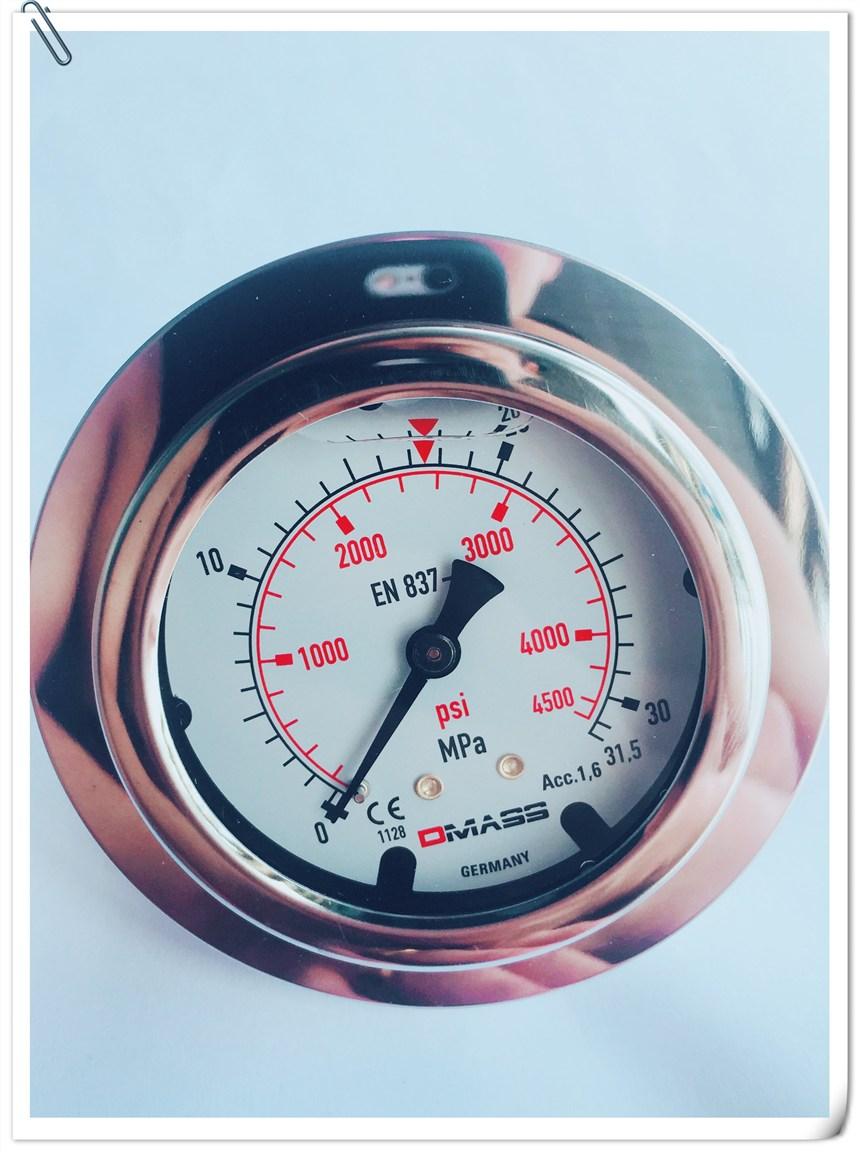 原装DMASS压力表MBB06U-600-1-Z-Z-Z充液抗震60mpa