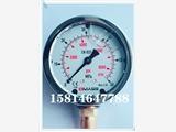 DMASS壓力表MBB系列充油抗震注塑機油壓表