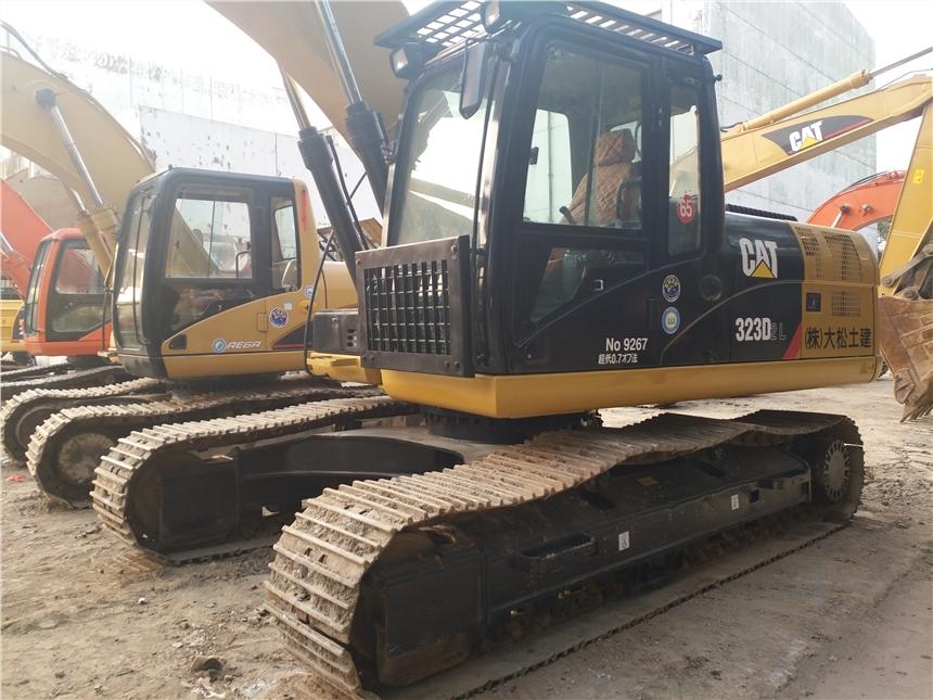 二手卡特323D挖掘机出售  二手挖掘机