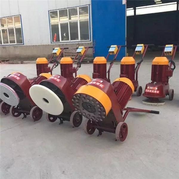 资讯:陕西渭南地面打磨水磨石机水泥地面350型水磨石机