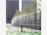 新闻:新疆和田地区厂房围挡喷淋系统