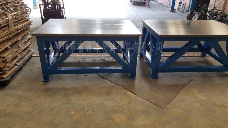 20厚钢板台面修模桌厂家 加工中心修模桌定做