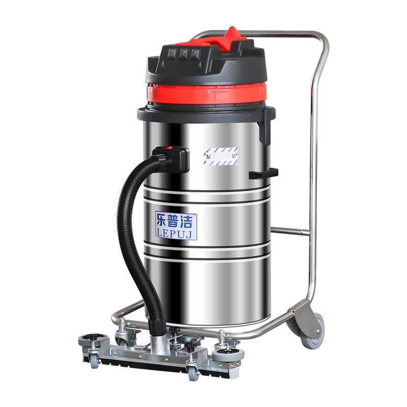工業吸塵器手推式裝修用桶式干濕兩用吸塵器
