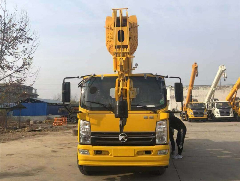 箱體大架 全液壓16噸東風吊車 國六排放 操作簡單 支持訂制