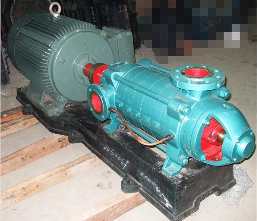 卧式排水泵离心泵100D45×9多级泵供应安徽