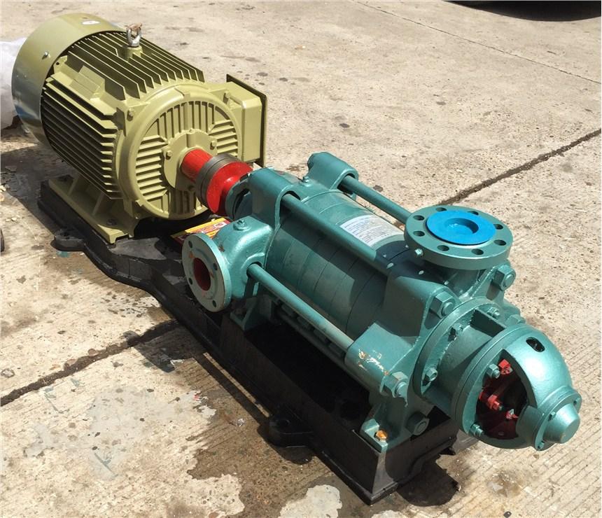 臥式多級泵D12-50×9鑄鐵材質離心泵供應山東