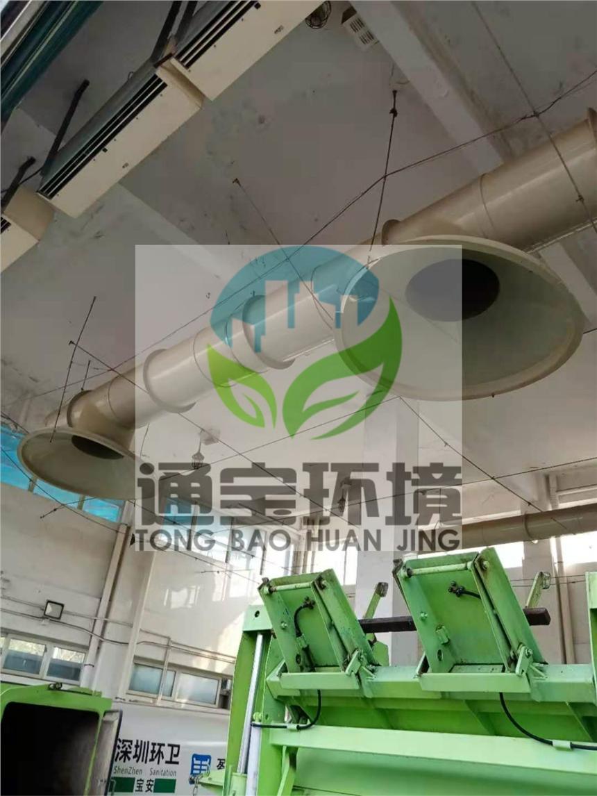 深圳垃圾站噴淋除臭系統 高壓霧化除臭裝置