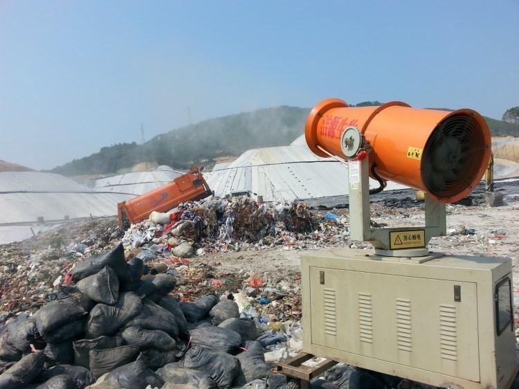 垃圾中轉站高壓噴霧消毒除臭系統