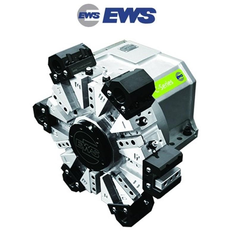EWS C系列 单电机/双电机 车削中心 动力刀塔 伺服刀塔 液压刀塔 标准刀塔