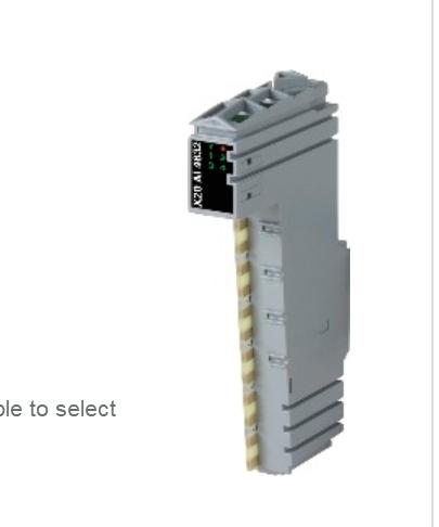 貝加萊模塊X20AI4632全新現貨低價銷售