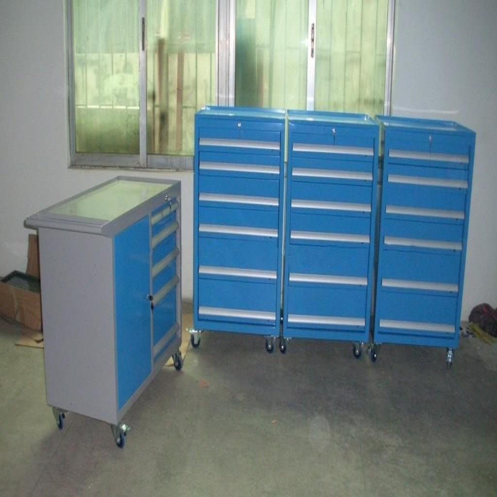 天津專業生產定制工具柜定制帶臺面工具柜_帶掛板工具柜