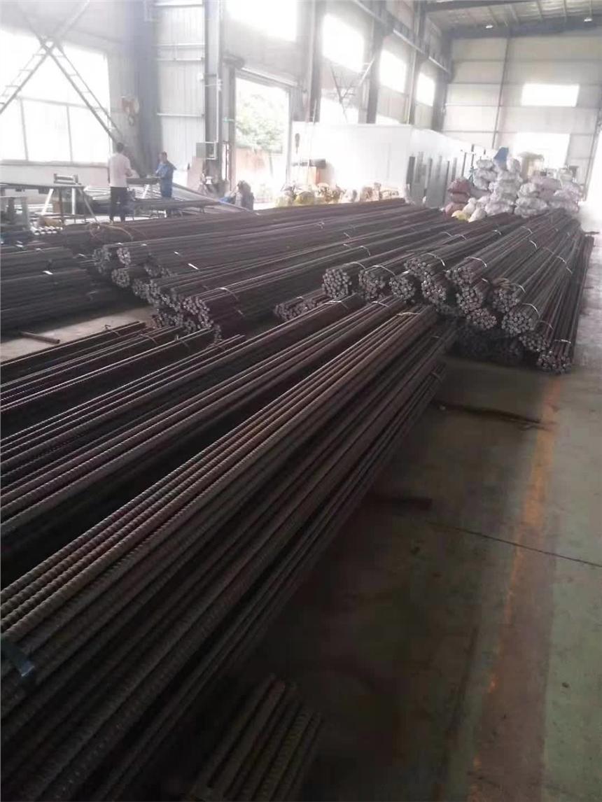 河北高強度精軋螺紋鋼筋50mm精軋螺紋鋼筋精軋墊板生產加工