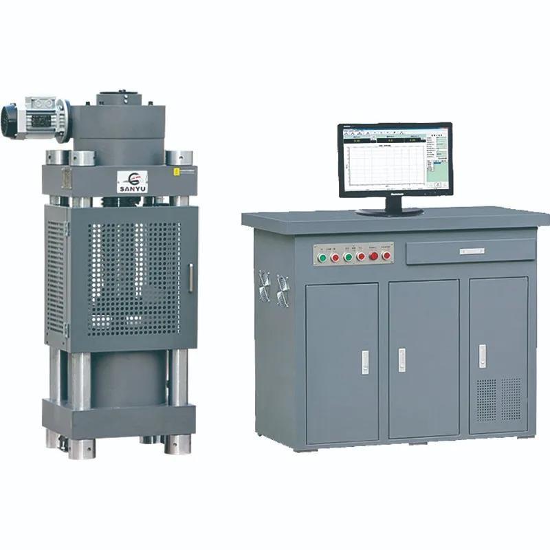 其他專用儀器儀表優質HYE-2000微機電液伺服壓力試驗機