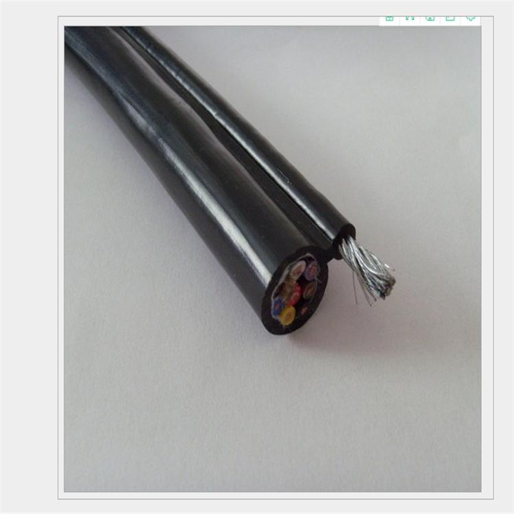 KVVRC帶鋼絲繩的行車控制電纜