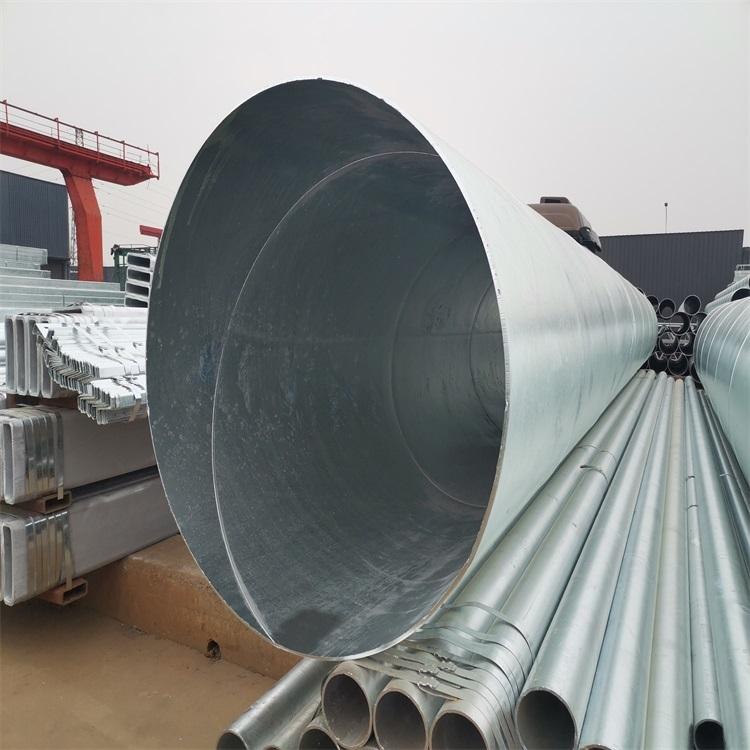 螺旋管 镀锌螺旋焊管厂家 螺旋钢管价格 富鹏源发货快
