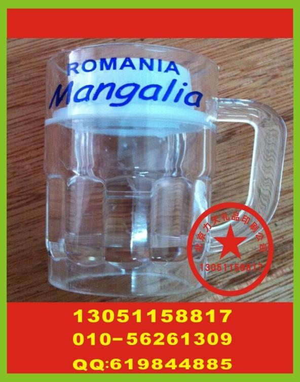 北京玻璃酒杯印字 公司工作服丝印标 双肩背包丝印标
