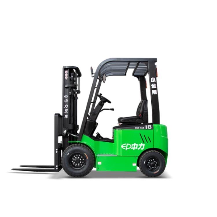 山東1.5噸電動叉車 鋰電池四輪叉車價格
