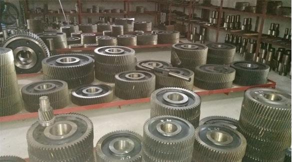 泰隆 泰星ZSY224硬齒齒輪減速機齒輪配件 小齒輪 中齒輪 大齒輪