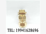 寶得電氣黃銅鍍鎳鎧裝電纜防爆接頭防水格蘭頭填料函