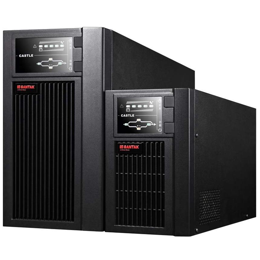 山特 c1ks ups電源 1000va 800w 外置電池組 220VAC