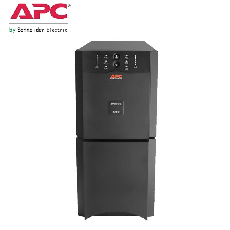 APC UPS电源SUA2200UXICH外接电池在线互动式2200VA负载1980W
