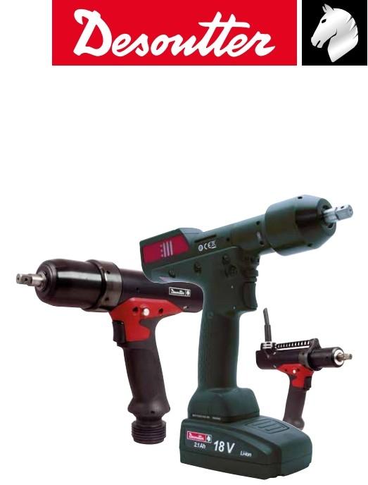 Desoutter/馬頭電動擰緊扳手/數據追溯擰緊自動化/特殊頭電動工具
