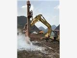 挖掘機改裝液壓沖擊鉆機挖機改裝液壓鑿巖機挖機加裝液壓鉆機切削鉆機潛孔鉆機