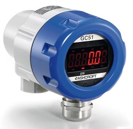 美国雅斯科Ashcroft可调量程数显压力传感器