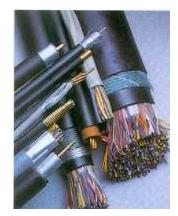 钢塑复合带铠装通信电缆-HYA53