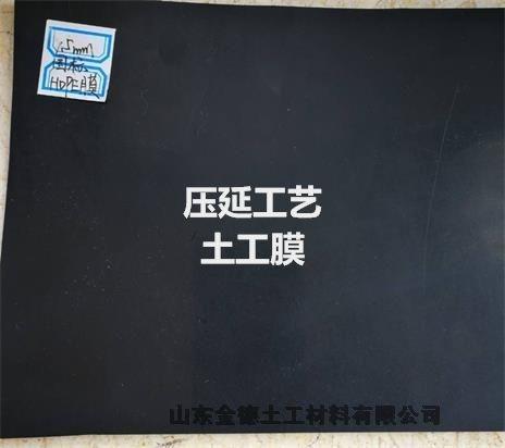鄂州1.0mm厚草綠色建標HDPE膜 工廠重誠信
