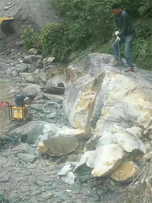 浙江溫州靜態裂石劈裂機價格