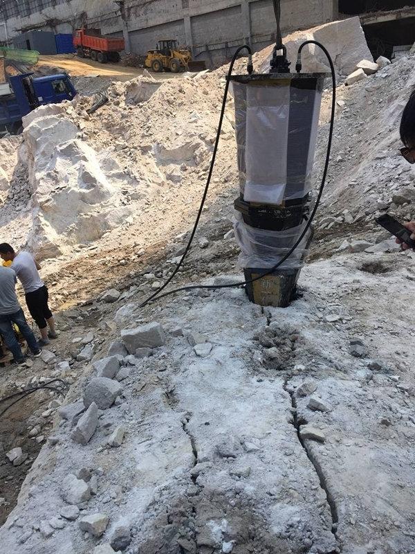 湖南长沙硬石头开挖破裂用什么设备石头硬怎么办