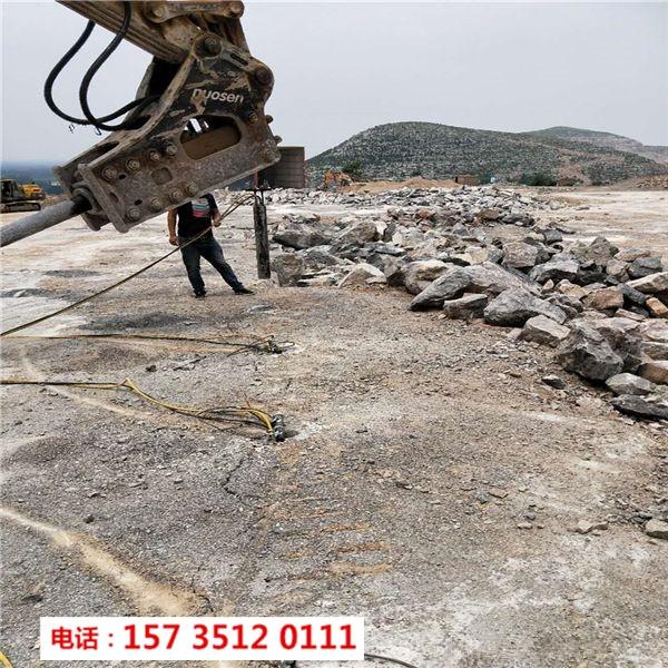 桂林資源鋼筋混凝土樁頭樁基拆除液壓分裂器