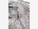 混凝土路面破碎拆除小型破裂器眉山青神提供現場