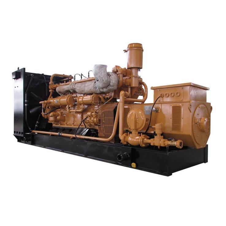 海南400KW天然气发电机组价格 济柴大功率新能源燃气发电站