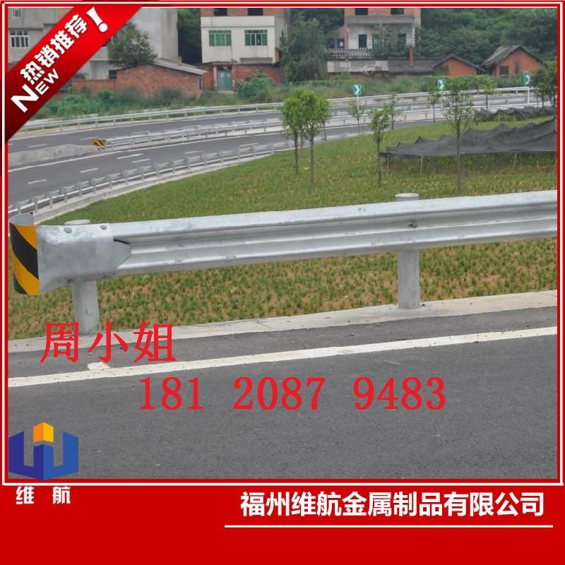 定制护栏板 高速喷塑护栏 高速公路防撞 镀锌护栏板 波形护栏