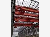【河南卫华】40吨22.5米电磁吸盘桥式起重机参观