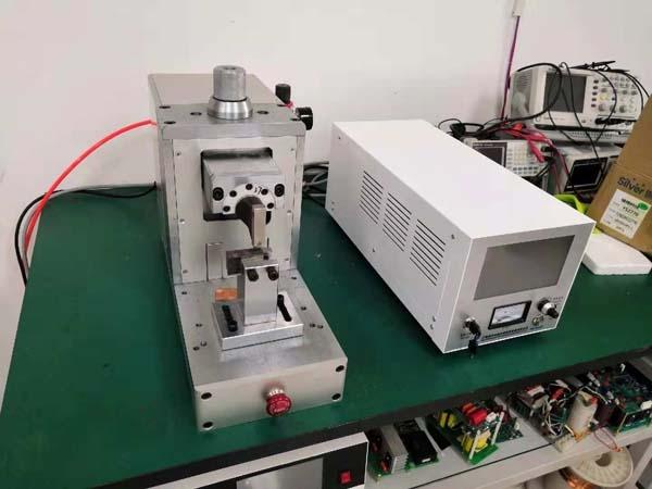 鋁片與鋁片搭接超聲波點焊機焊接