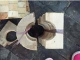 30*30防腐木托参数定西市木质空调管托参数 厂家大量供应