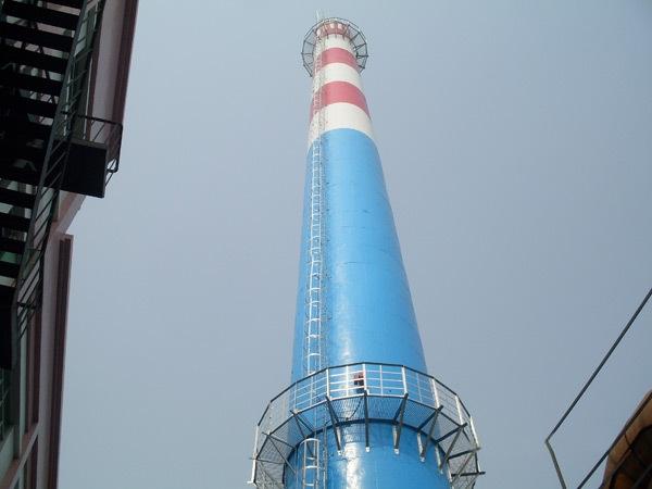 宜城烟囱刷航标色环翻新公司欢迎咨询宜城