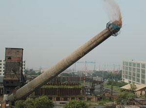 西藏磚煙囪拆除公司-2021實力派拆除隊伍