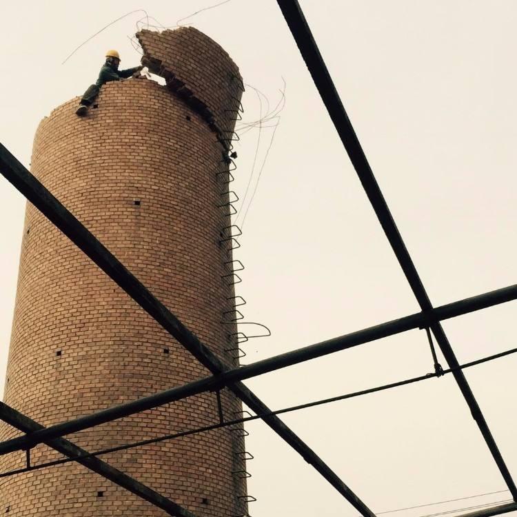 武漢市玉溪市磚煙囪拆除公司#歡迎您