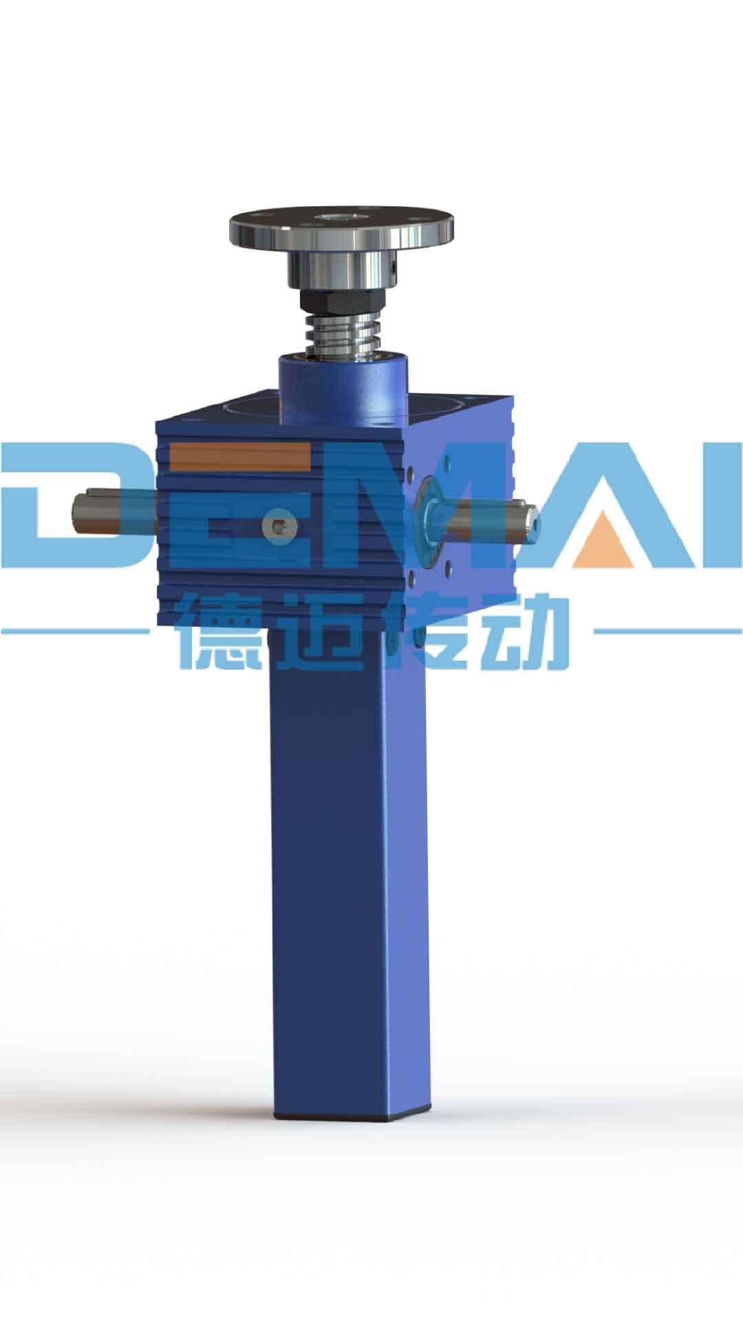 铝合金升降机 DMT丝杆升降机 德迈传动螺旋升降机