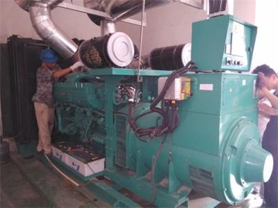 苏州新区回收小松发电机-苏州回收柴油发电机