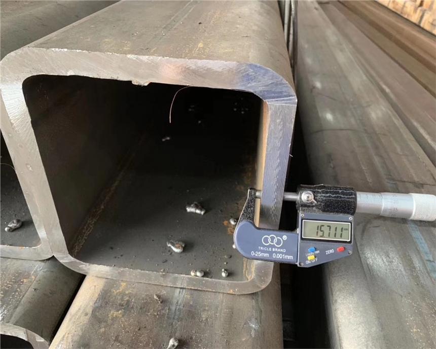110*110*4規格Q355B方管鋼結構專用